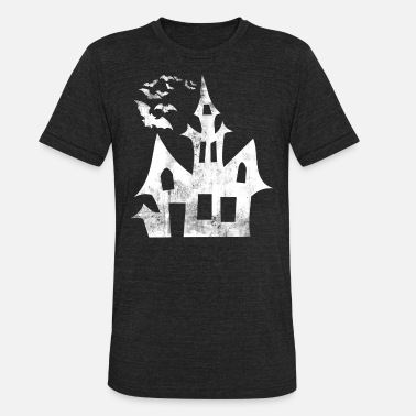Witchcraft Halloween haunted house witch scary witchcraft - Unisex Tri-Blend T-Shirt