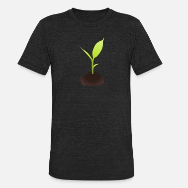 Growing Plants Growing Plant - Unisex Tri-Blend T-Shirt