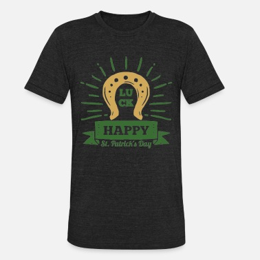 Happy St Patrick S Happy St Patrick s Day T Shirt - Gift - Unisex Tri-Blend T-Shirt