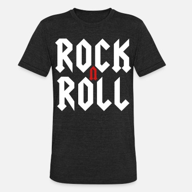Rock'n'Roll - Unisex Tri-Blend T-Shirt