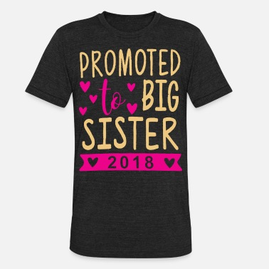 Sis Kids Us New Kids Baby Girls Cotton Tops Toddler Big Sis - Unisex Tri-Blend T-Shirt