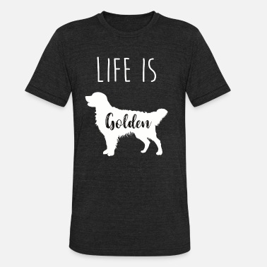 Life Is Golden Life is Golden - Unisex Tri-Blend T-Shirt