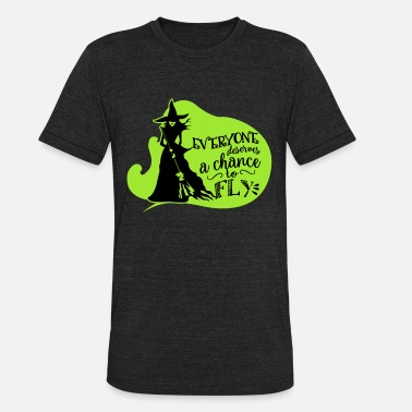 Wicked Wicked Musical Quote. - Unisex Tri-Blend T-Shirt