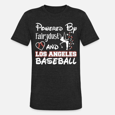 Los Angeles Dodgers Los Angeles baseball - Powered by fairydust - Unisex Tri-Blend T-Shirt