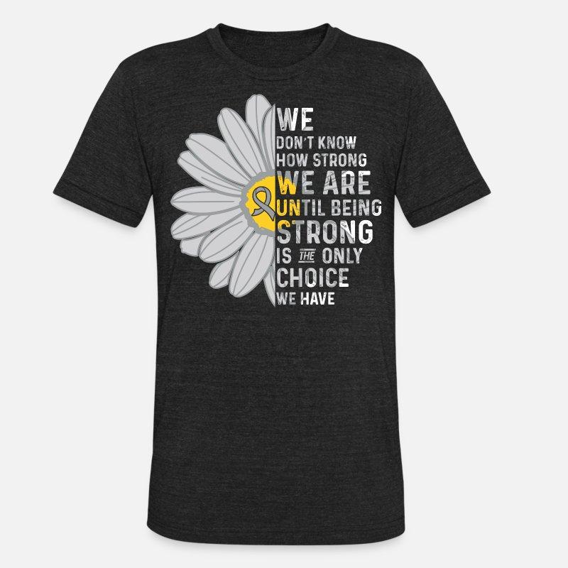 fffb43c2 Brain Cancer Awareness Unisex Tri-Blend T-Shirt | Spreadshirt