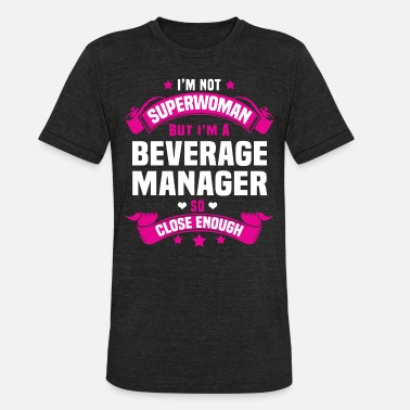 Beverage Beverage Manager - Unisex Tri-Blend T-Shirt