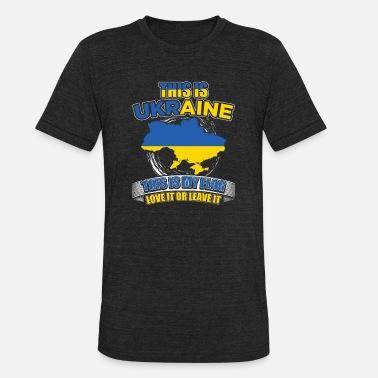 Ukraine Ukrainian T-Shirt Country National Map Flag Fun Novelty T-Shirt