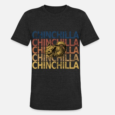 Chinchilla Chinchilla - Unisex Tri-Blend T-Shirt