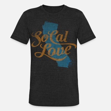 Southern California SoCal Love - Unisex Tri-Blend T-Shirt