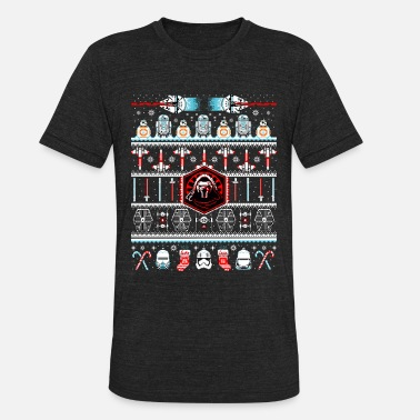 Breast Military Star Wars Ugly Christmas Sweater - Unisex Tri-Blend T-Shirt