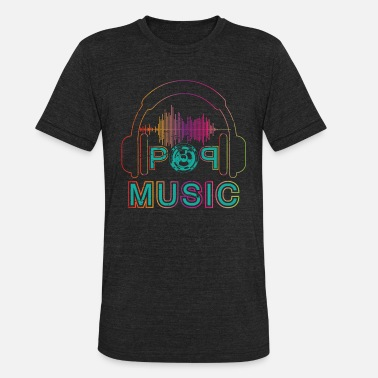 Music Chart Pop Music Charts Lover Music Gift - Unisex Tri-Blend T-Shirt