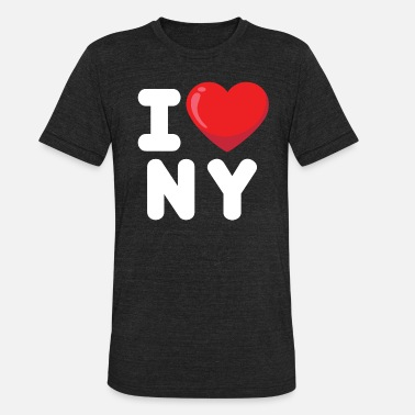 i love new york, newyork, ny - Unisex Tri-Blend T-Shirt