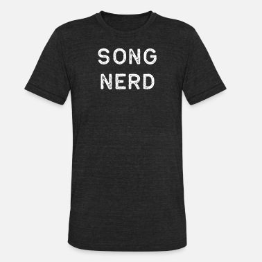 Song Writer Music Shirt Song Nerd Light Song Writer Musician Guitar Player Singer Gift - Unisex Tri-Blend T-Shirt