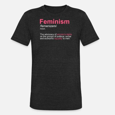 Intersectional Feminism Progressive intersectional feminism definition - Unisex Tri-Blend T-Shirt