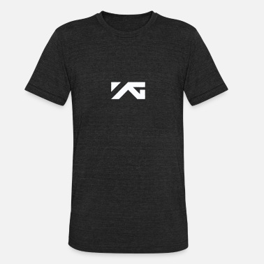 fb59ad3f Yg YG Entertainment White Logo Design - Unisex Tri-Blend T-Shirt