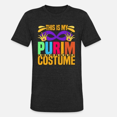Persia This Is My Purim Costume T-Shirt Funny Costume Tee - Unisex Tri-Blend T-Shirt