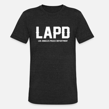 Proud Blue Lives LAPD Los Angeles Police Departmen - Unisex Tri-Blend T-Shirt