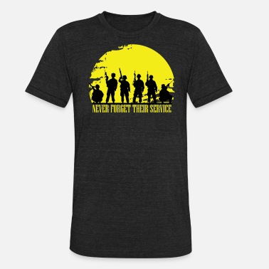 Us Army Soldier Military Veterans Day Soldier Army - Unisex Tri-Blend T-Shirt