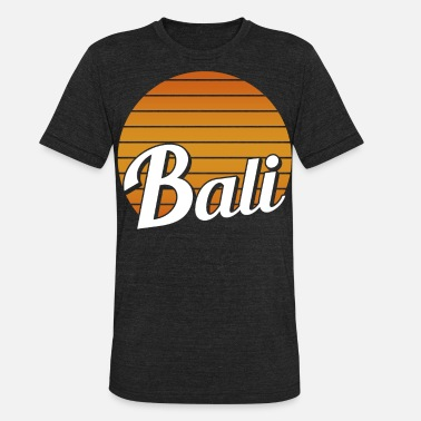 Bali Beach Bali vacation beach trip - Unisex Tri-Blend T-Shirt