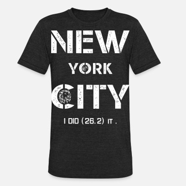 York I LOVE New York City T-Shirts NYC - Unisex Tri-Blend T-Shirt