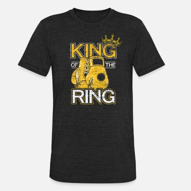 Boxing Ring Boxing Sports Fighter Boxing Gloves Boxer Ring - Unisex Tri-Blend T-Shirt