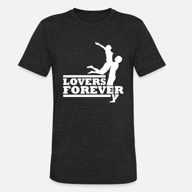 Adult Wife Couples Lovers Forever Couples Valentines Giftidea - Unisex Tri-Blend T-Shirt