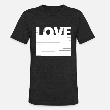 Fortress Fortress love - Unisex Tri-Blend T-Shirt