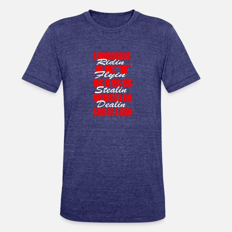 5753f3cc7a2 Ric Flair Woo Four Horsemen Wrestling Unisex Tri-Blend T-Shirt ...