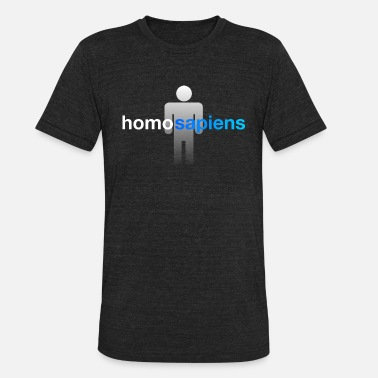 Homo Friends homo sapiens - Unisex Tri-Blend T-Shirt