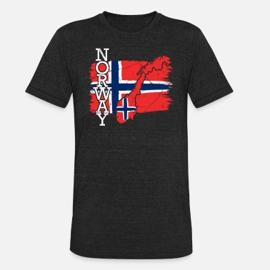 Norwegians Oslo Norway Oslo Norwegian Gift Norwegian - Unisex Tri-Blend T-Shirt