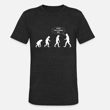 Wwe Evolution - Evolution Sequence. Stop Following M - Unisex Tri-Blend T-Shirt
