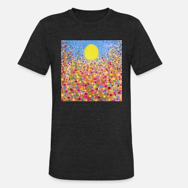 Meadows Wildflower Meadows - Unisex Tri-Blend T-Shirt