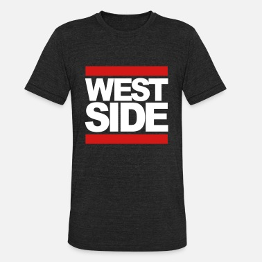 Side Westside westside  bulls  - Unisex Tri-Blend T-Shirt