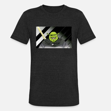 Shrek Shrek Anime Edition - Unisex Tri-Blend T-Shirt