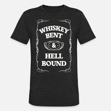 Hank WHISKEY BENT - Unisex Tri-Blend T-Shirt