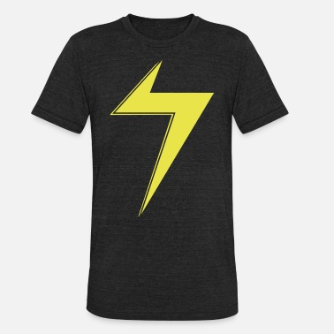 Ms Marvell  Ms Marvel Bolt - Unisex Tri-Blend T-Shirt