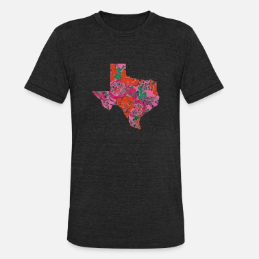 d5d6d2e5 Home State Texas State Is My Home Longhorn Design 13 - Unisex Tri-Blend T