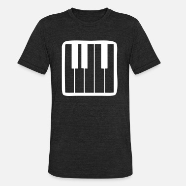 Keyboard Synthesizer Synthesizer - Unisex Tri-Blend T-Shirt