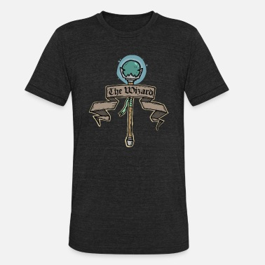 The Wizard The Wizard - Unisex Tri-Blend T-Shirt