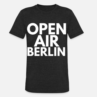 Open Air open air berlin - Unisex Tri-Blend T-Shirt