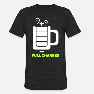 Herself Full Charger - Full Charger - Unisex Tri-Blend T-Shirt