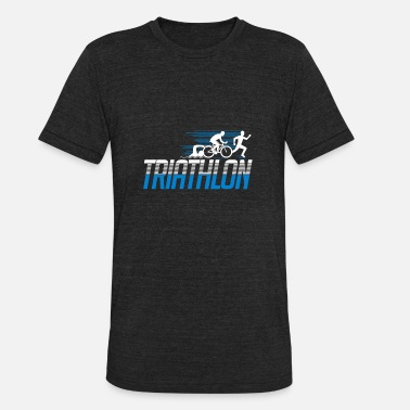 Triathlons Triathlon - Unisex Tri-Blend T-Shirt