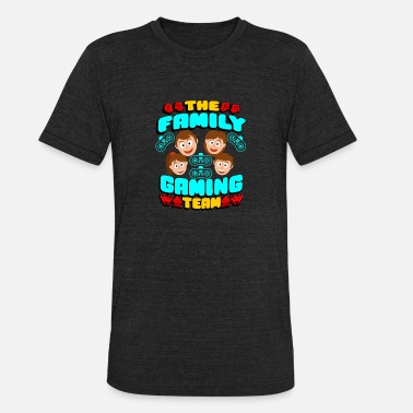 The Family Gaming Team The Family Gaming Team Gaming Family - Unisex Tri-Blend T-Shirt