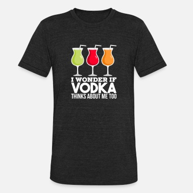 Firewater Alcohol, Vodka, Gift - Unisex Tri-Blend T-Shirt