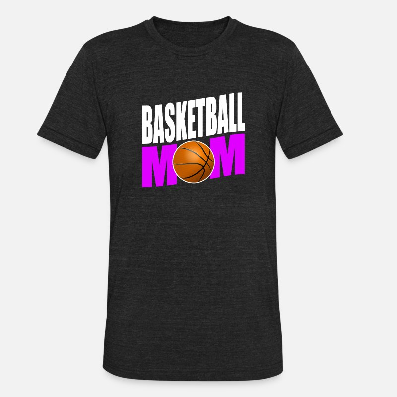 823453f6 Unisex Tri-Blend T-ShirtFunny Basketball Mom design Gift for Sport Mothers