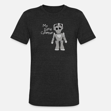Cyberman Cyberman - My Little Cyberman - Unisex Tri-Blend T-Shirt