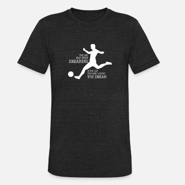 Kicker Ball Kicker - Unisex Tri-Blend T-Shirt