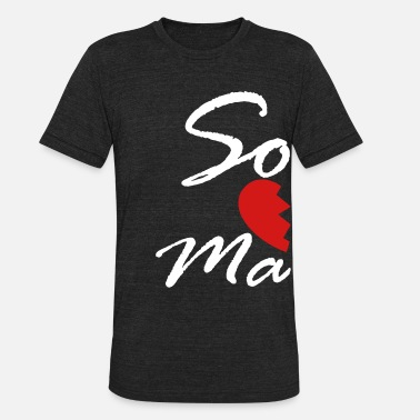 Mate soul mate - right - Unisex Tri-Blend T-Shirt