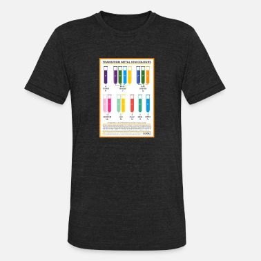 Kabbalah Protective Symbol elements transition - Unisex Tri-Blend T-Shirt
