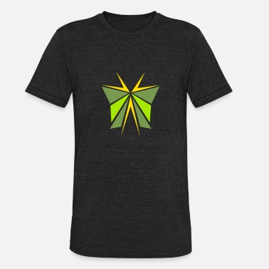 Green Star green star - Unisex Tri-Blend T-Shirt